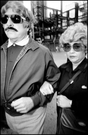 © Bruce Gilden / Magnum Photos, 1984.