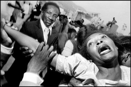 © Bruce Gilden / Magnum Photos, 1988.